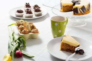 Muffins, Cupcakes und Rüblikuchen