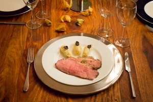 roastbeef mit kartoffel tr ffel p ree gourmet m. Black Bedroom Furniture Sets. Home Design Ideas