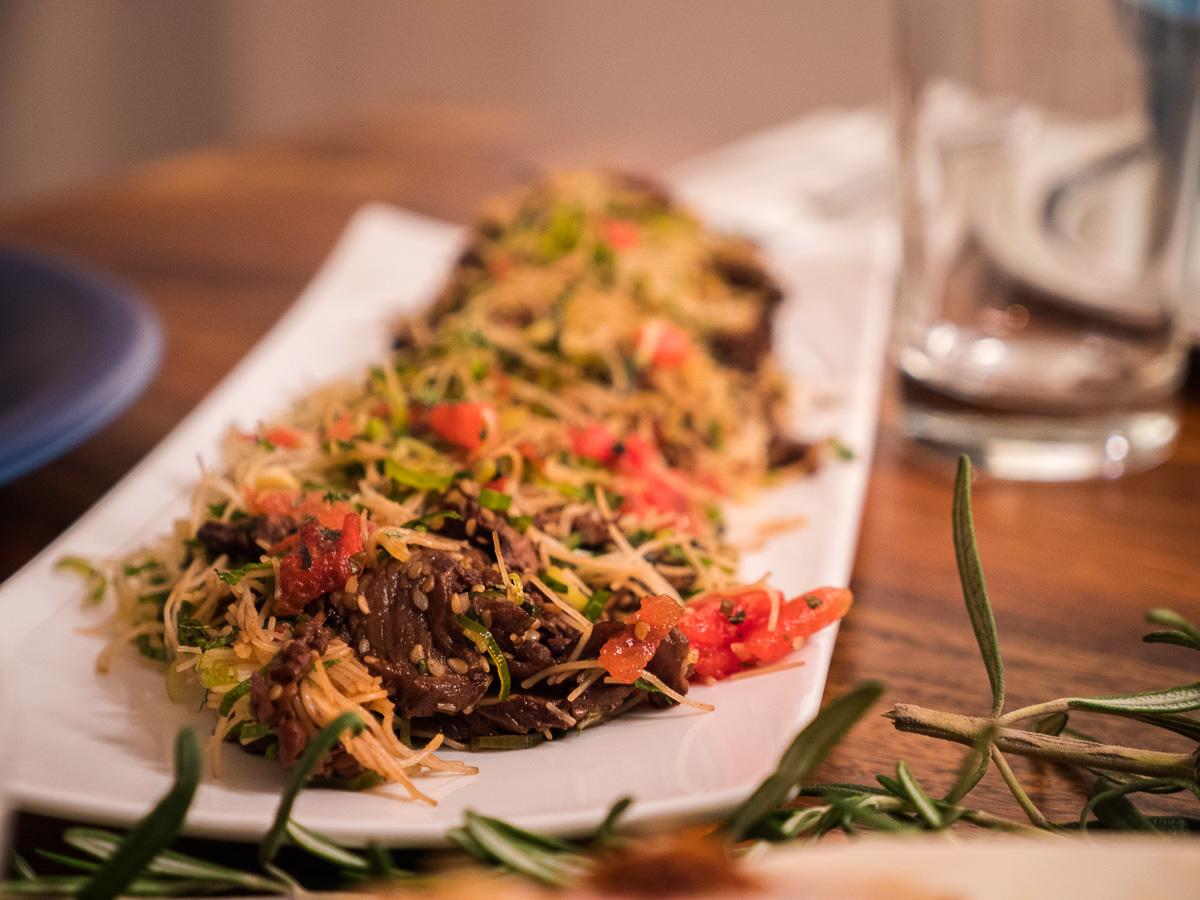 Sommerrollen Füllung Salat